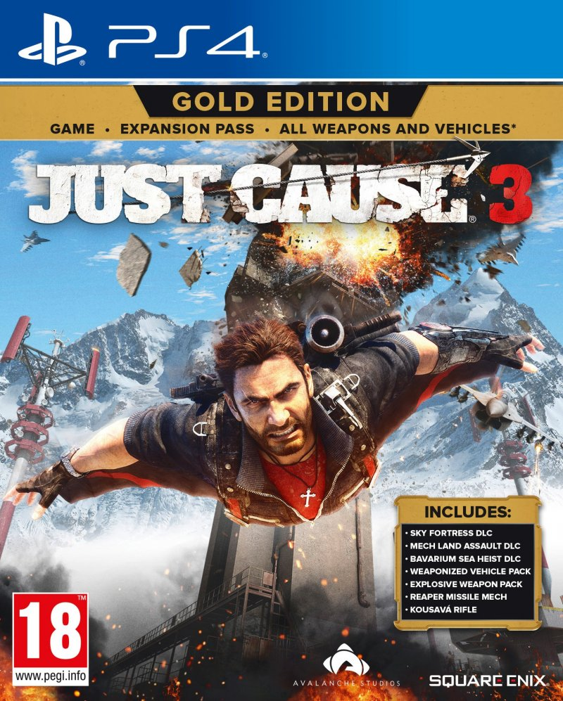 Image of   Just Cause 3 - Gold Edition - PS4