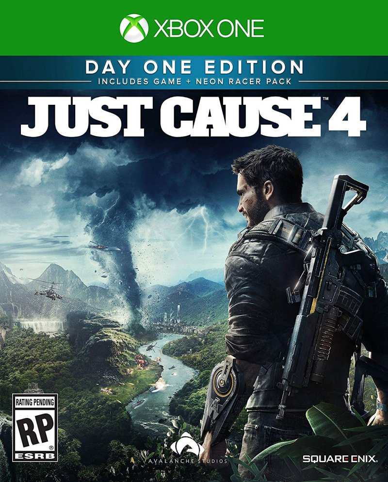 Image of   Just Cause 4 Day One Edition - Steelbook - Xbox One