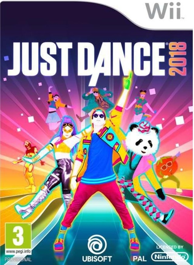 Image of   Just Dance 2018 - Wii