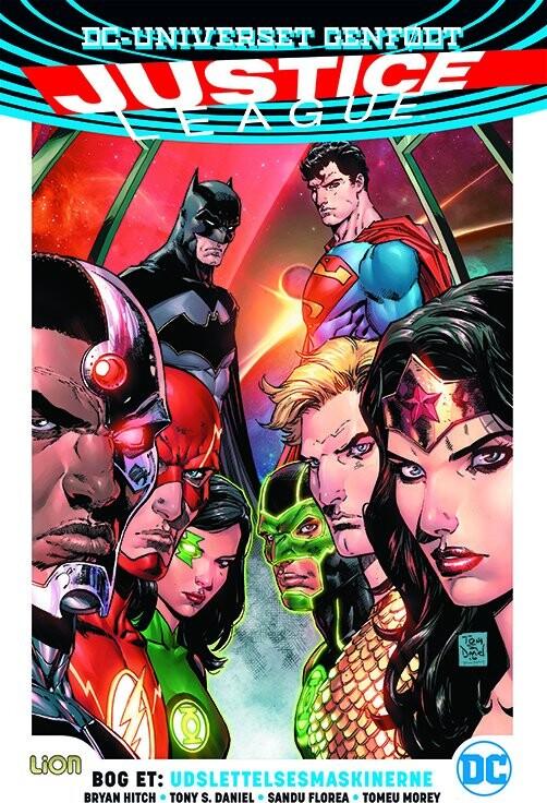 Billede af Justice League - Udslettelsesmaskinerne - Bryan Hitch - Tegneserie