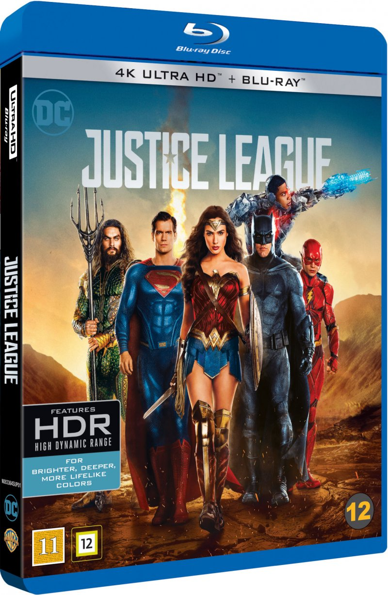 Billede af Justice League The Movie - 2017 - 4K Blu-Ray