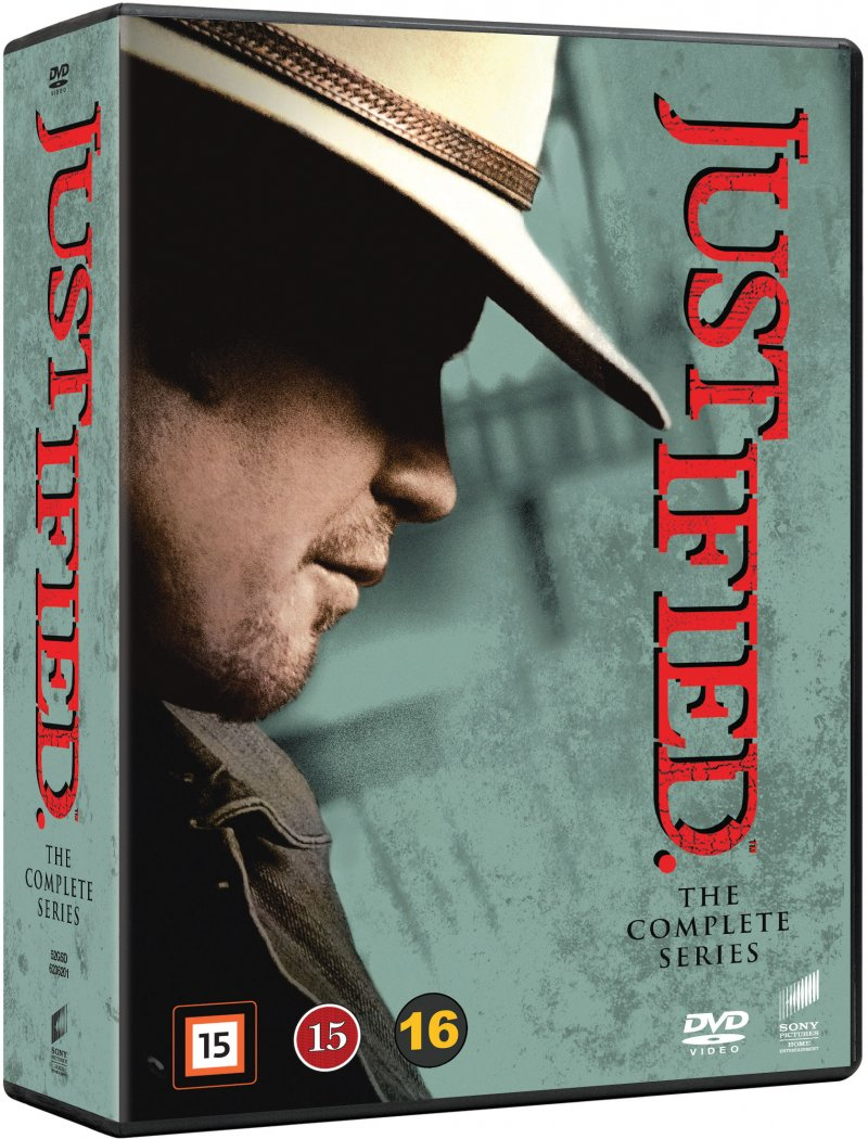 Image of   Justified - Den Komplette Serie - DVD - Tv-serie