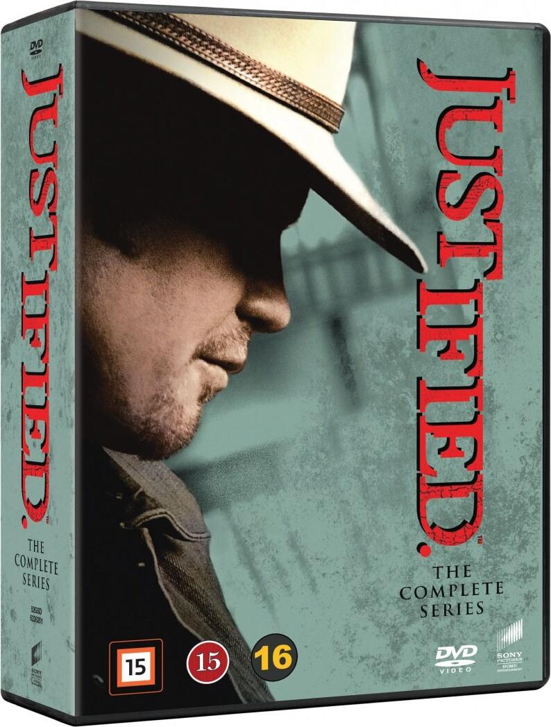 Image of   Justified - Den Komplette Serie - DVD - Tv-serie