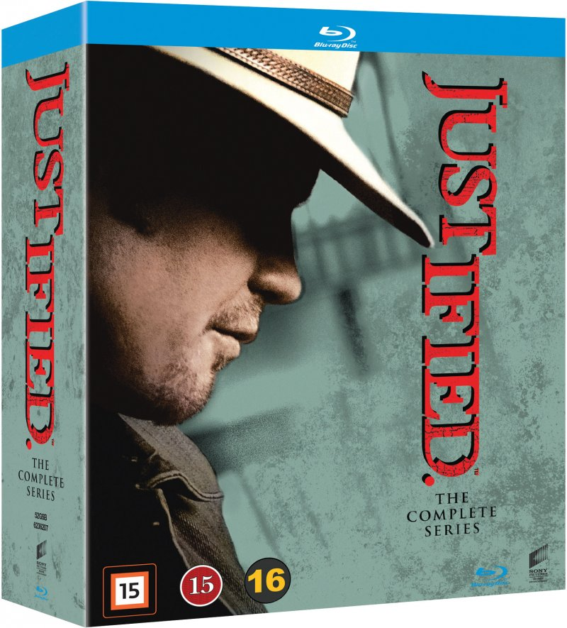 Justified - Sæson 1-6 - Den Komplette Serie - Blu-Ray - Tv-serie