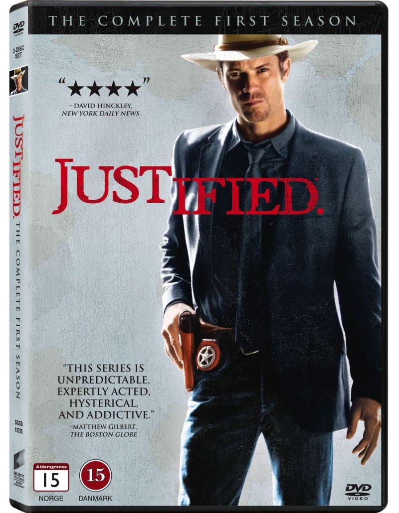 Billede af Justified - Sæson 1 - DVD - Tv-serie