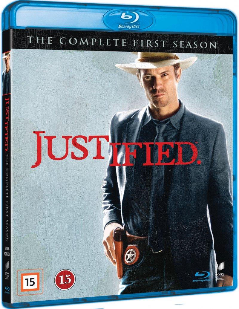 Justified - Sæson 1 - Blu-Ray - Tv-serie