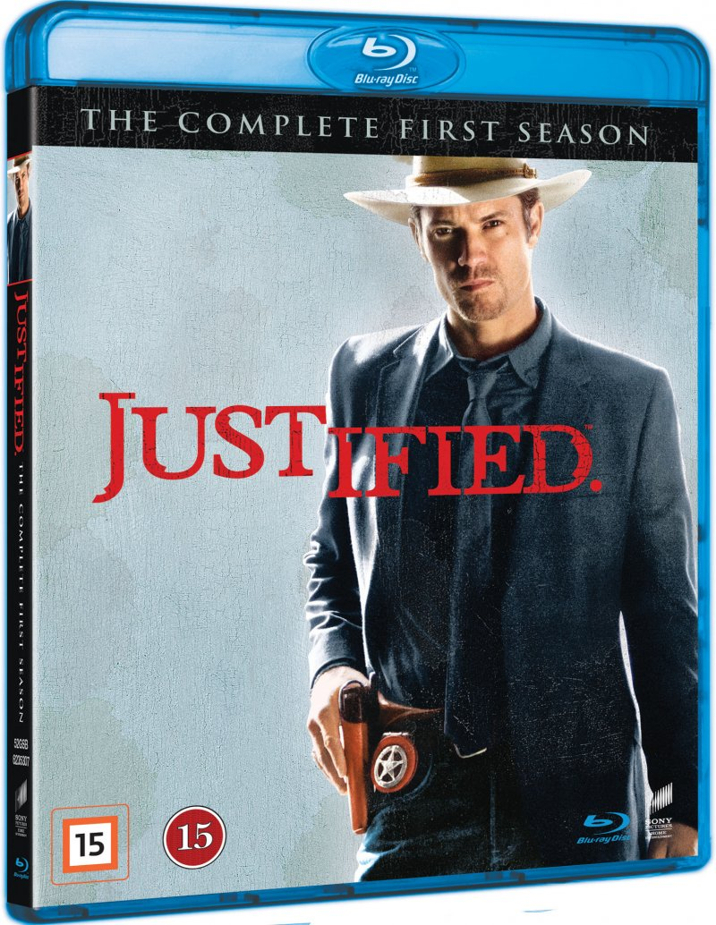 Image of   Justified - Sæson 1 - Blu-Ray - Tv-serie