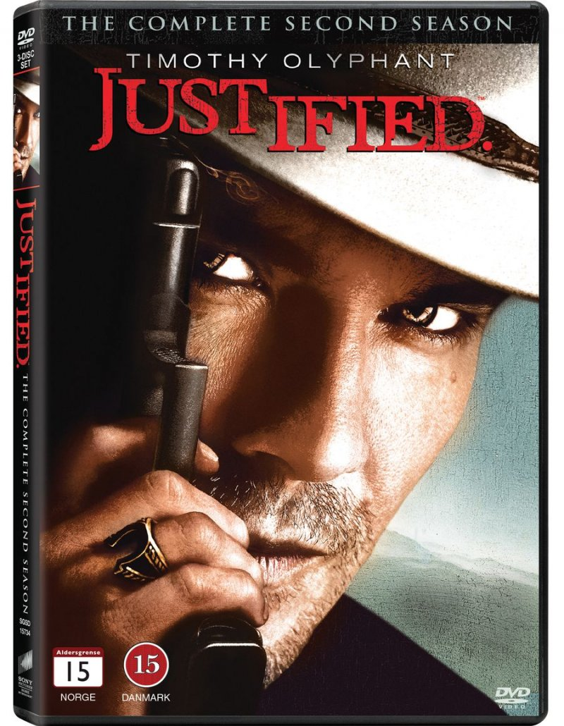 Image of   Justified - Sæson 2 - DVD - Tv-serie