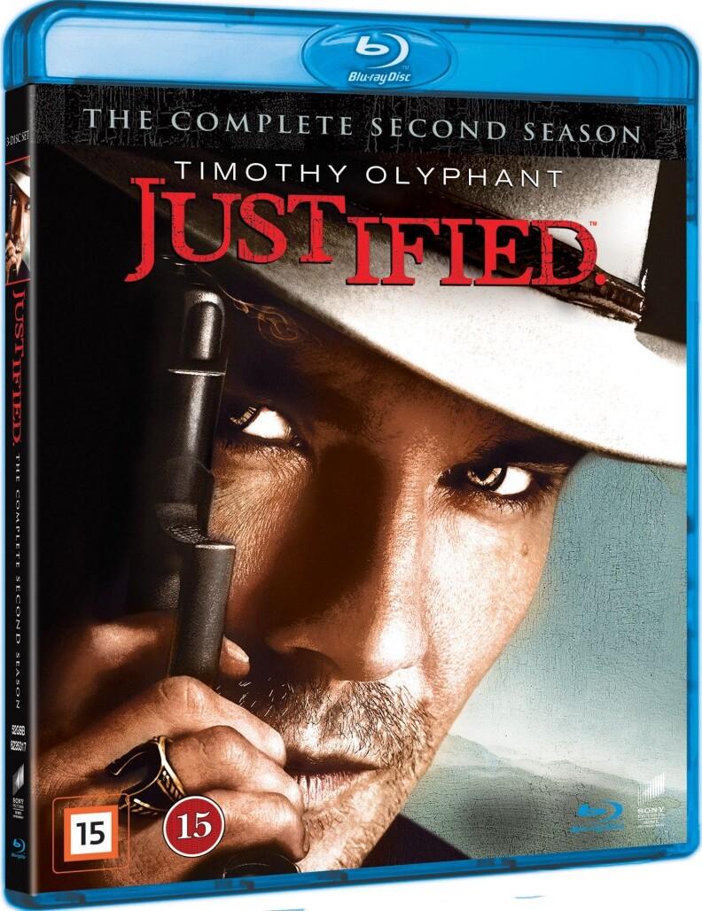 Justified - Sæson 2 - Blu-Ray - Tv-serie