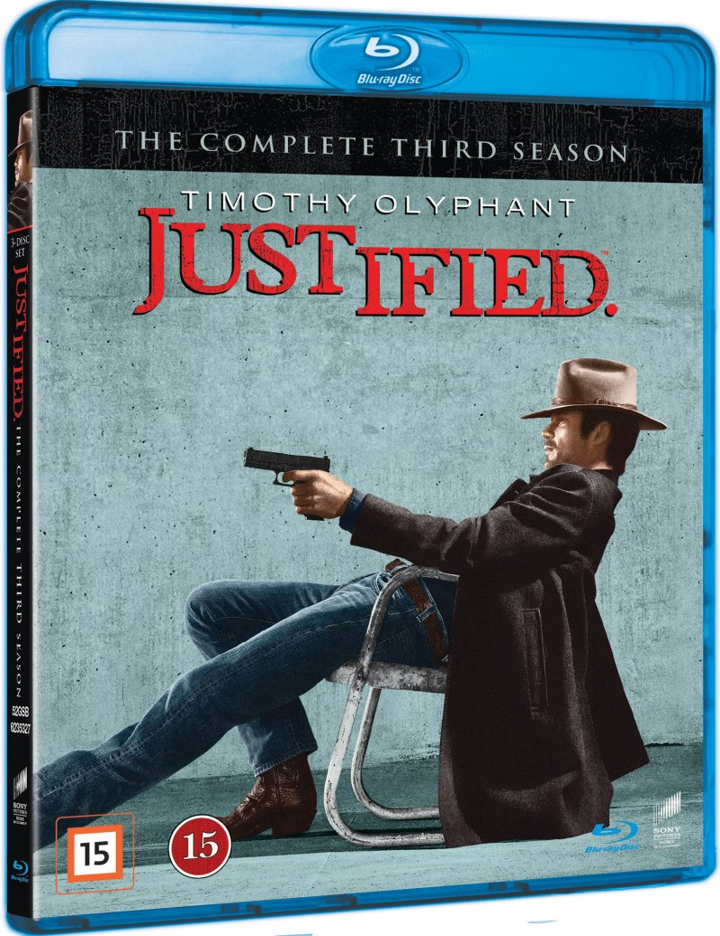 Justified - Sæson 3 - Blu-Ray - Tv-serie