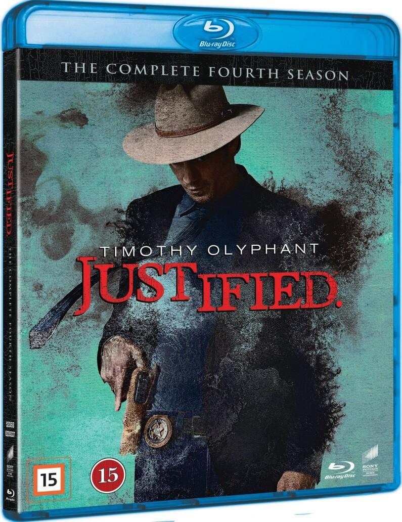 Justified - Sæson 4 - Blu-Ray - Tv-serie