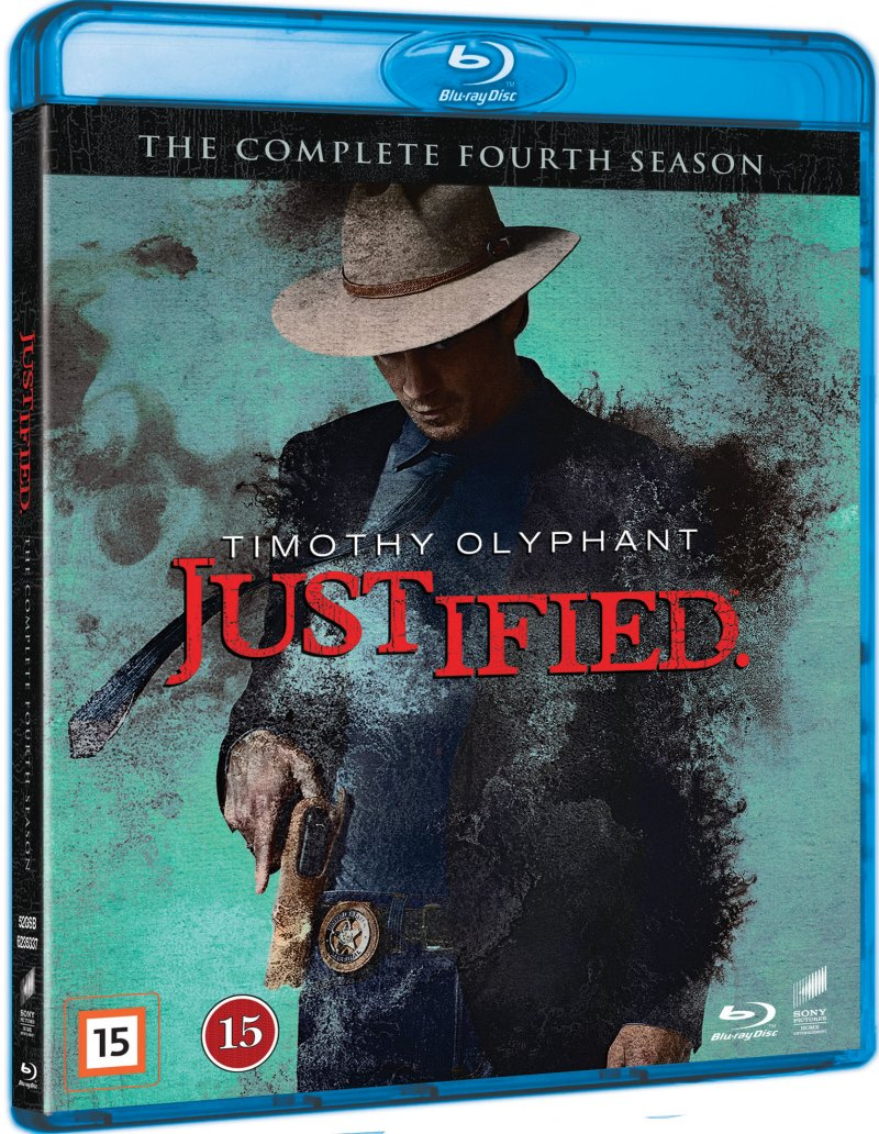 Image of   Justified - Sæson 4 - Blu-Ray - Tv-serie