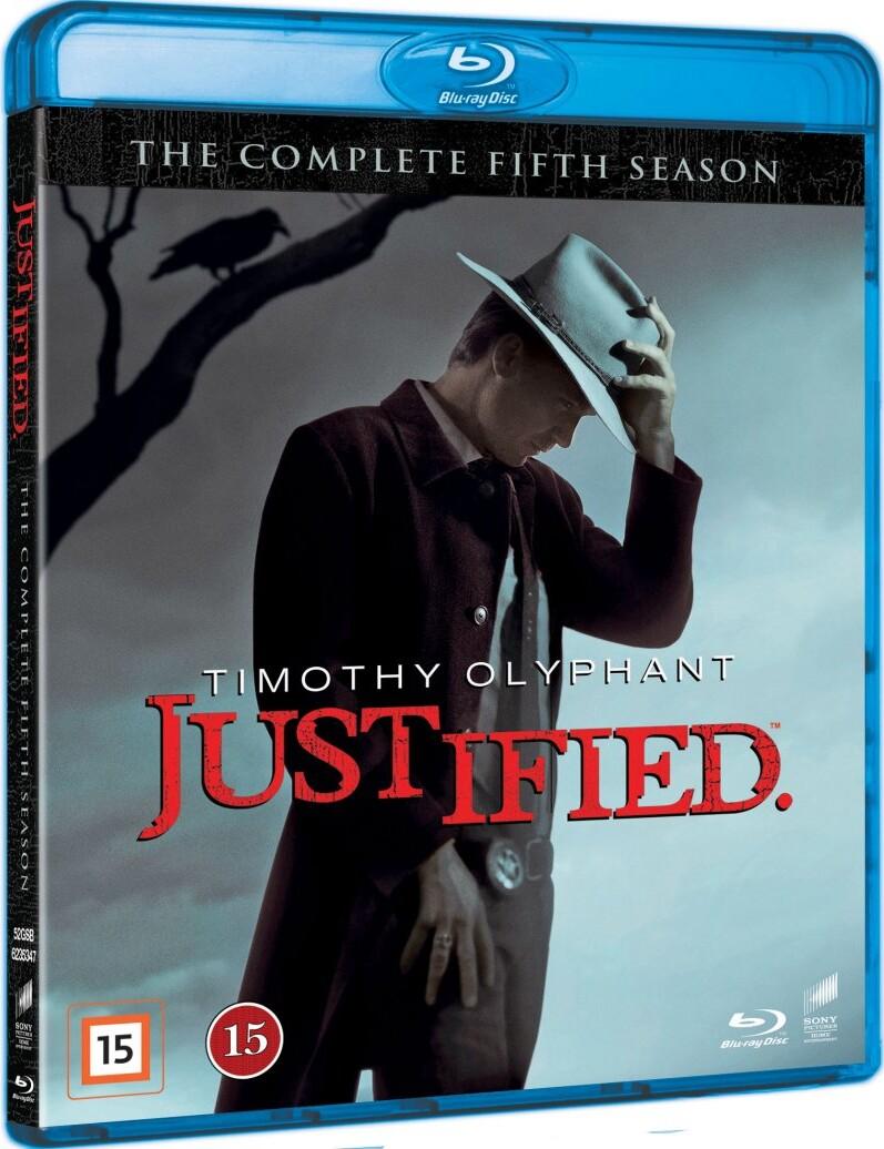 Justified - Sæson 5 - Blu-Ray - Tv-serie