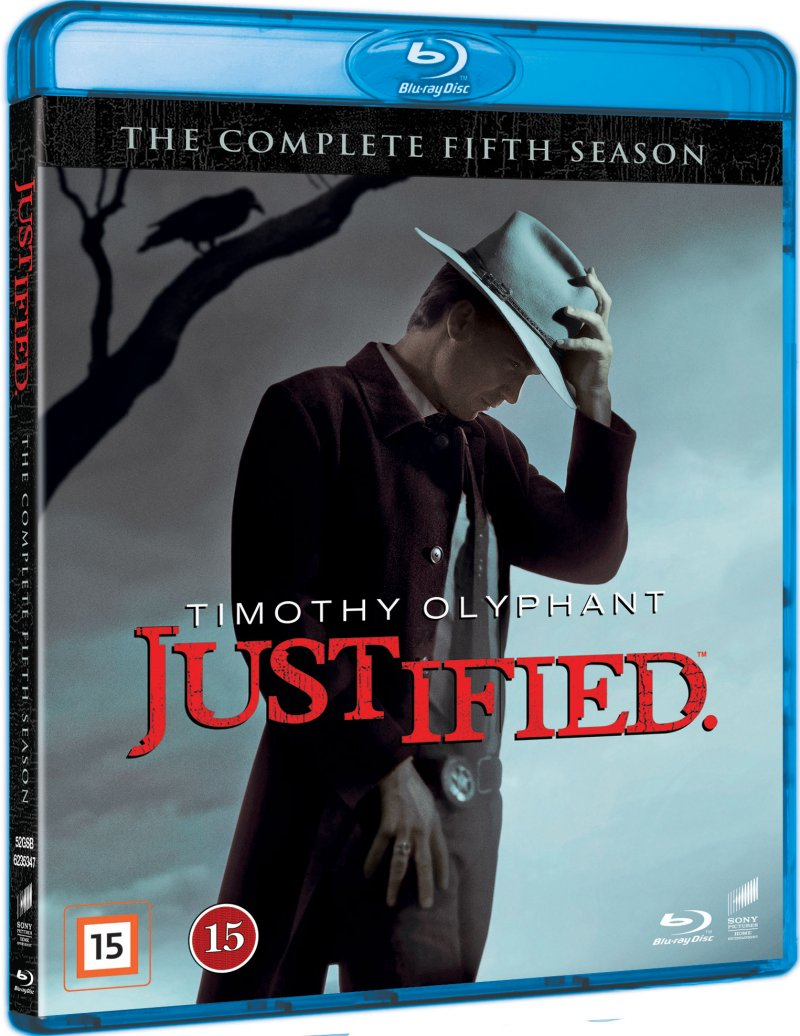 Image of   Justified - Sæson 5 - Blu-Ray - Tv-serie