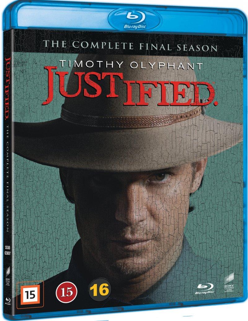 Justified - Sæson 6 - Blu-Ray - Tv-serie