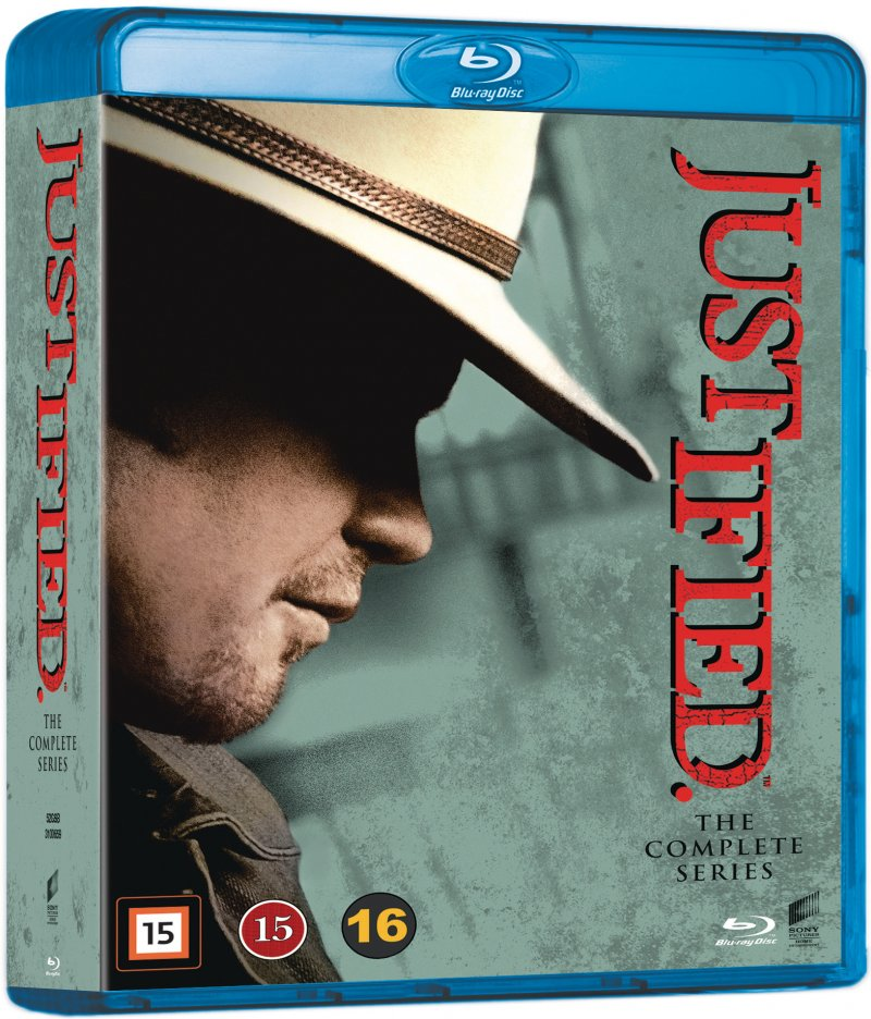 Image of   Justified - Den Komplette Serie - Blu-Ray - Tv-serie