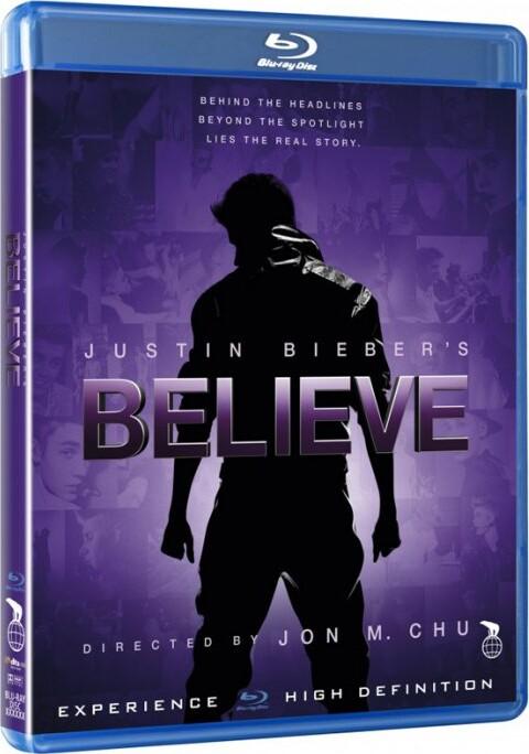 Billede af Justin Biebers Believe - Blu-Ray