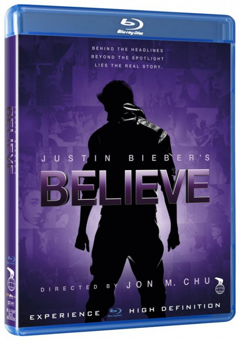 Image of   Justin Biebers Believe - Blu-Ray