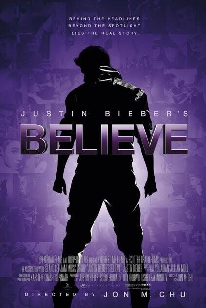 Image of   Justin Biebers Believe - DVD - Film