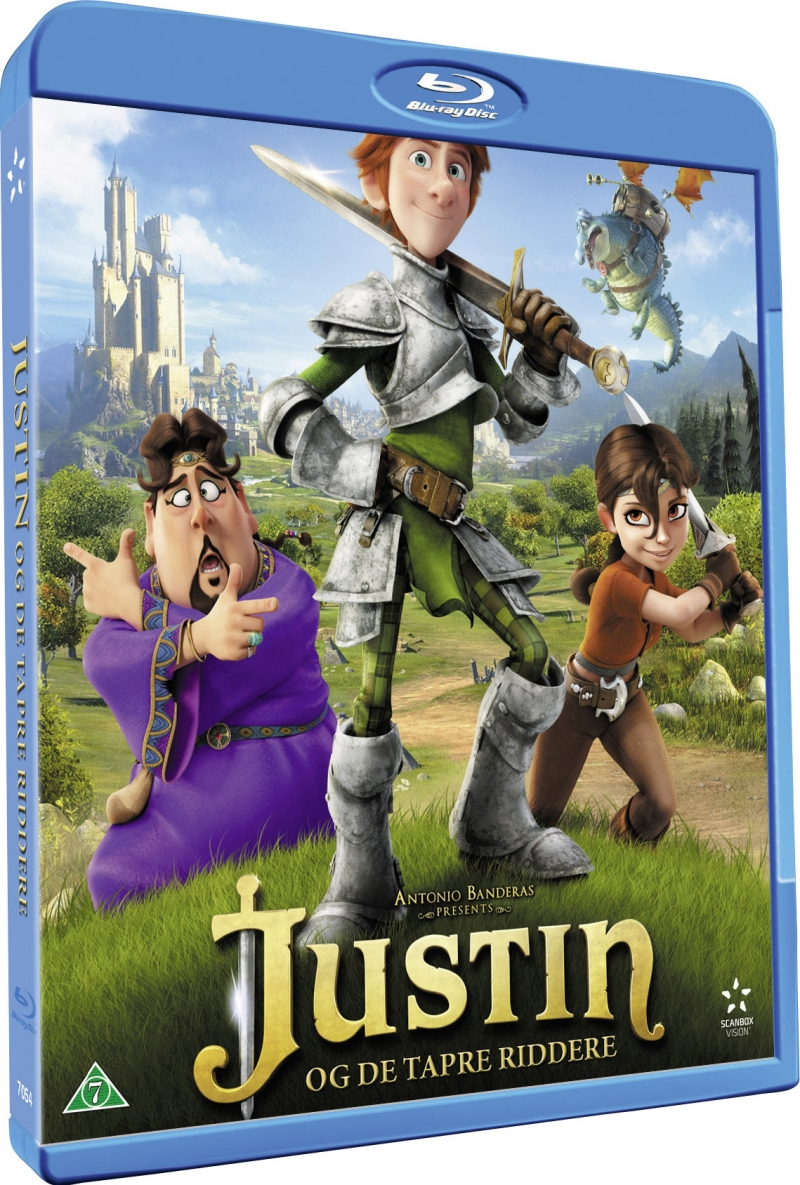 Image of   Justin Og De Tapre Riddere / Justin And The Knights Of Valour - Blu-Ray