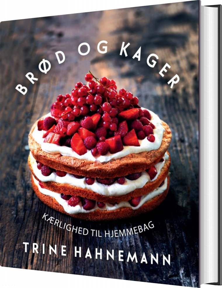 Image of   Brød Og Kager - Trine Hahnemann - Bog