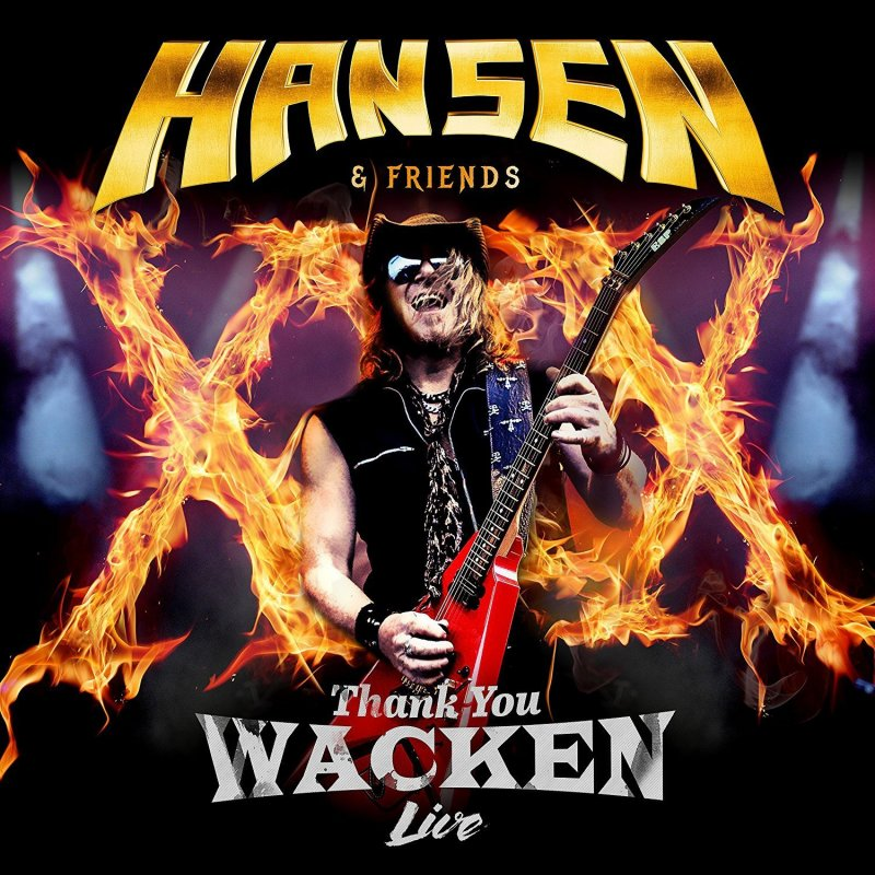 Image of   Hansen & Friends - Thank You Wacken (blu-ray + Cd) - Blu-Ray