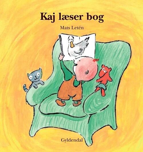 Kaj Læser Bog - Mats Letén - Bog