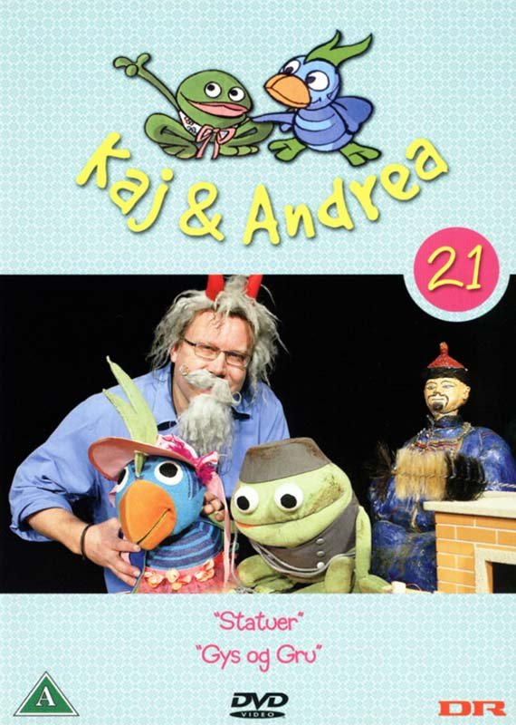 Image of   Kaj Og Andrea 21 - DVD - Film