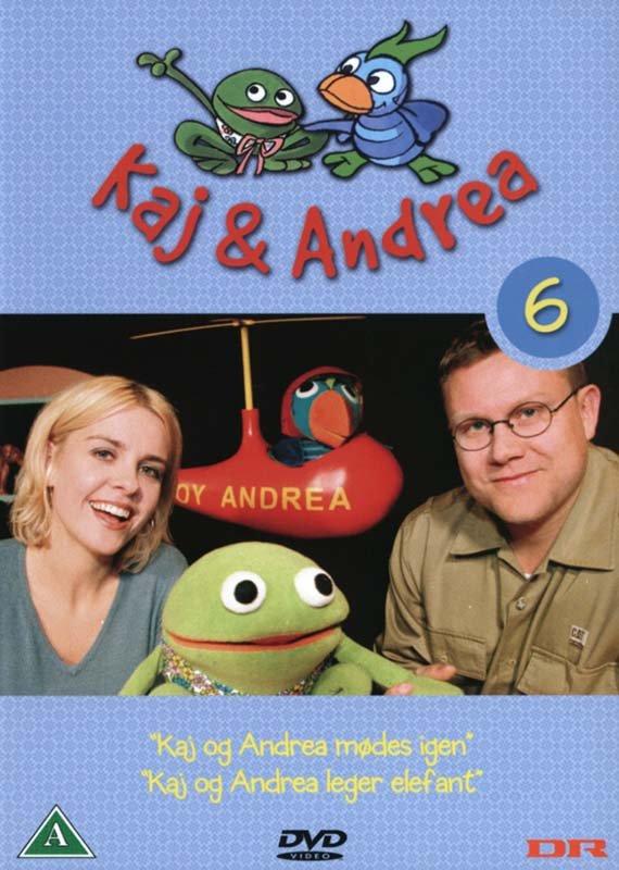 Image of   Kaj Og Andrea 6 - DVD - Film