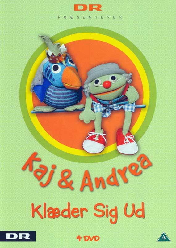 Billede af Kaj Og Andrea - Klæder Sig Ud - DVD - Film