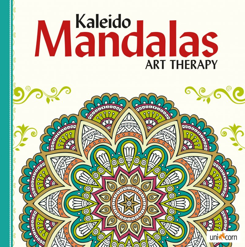 Kaleido Mandalas Art Therapy White - Diverse - Bog