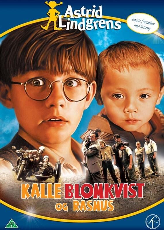 Image of   Kalle Blomkvist Og Rasmus / Kalle Blomkvist Och Rasmus - DVD - Film
