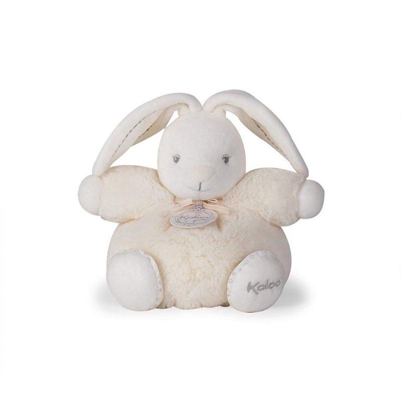 Lille Tyk Kanin Bamse - Perle I Creme Farve Fra Kaloo