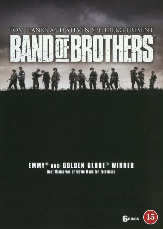Image of   Kammerater I Krig / Band Of Brothers - Hbo - DVD - Tv-serie