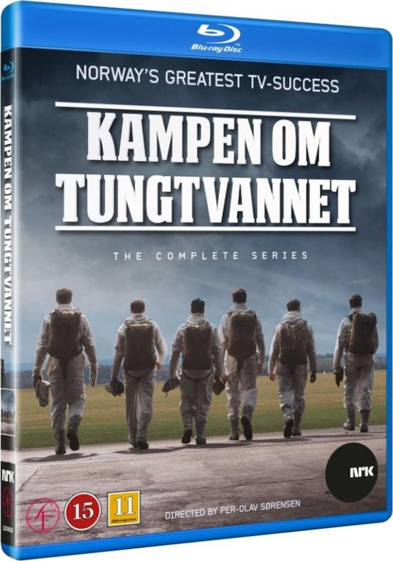 Image of   Kampen Om Det Tunge Vand - Den Komplette Serie - Blu-Ray - Tv-serie