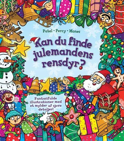Image of   Kan Du Finde Julemandens Rensdyr - Krina Patel - Bog