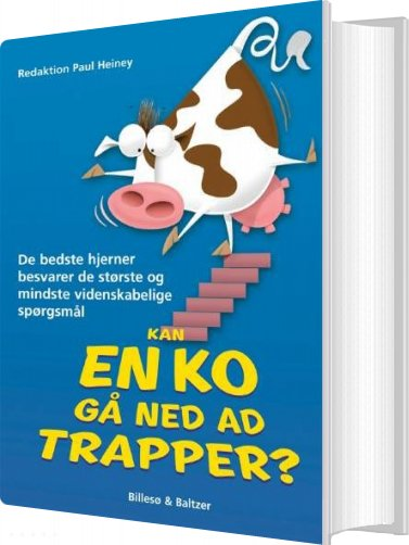 Image of   Kan En Ko Gå Ned Ad Trapper? - Paul Heiney - Bog