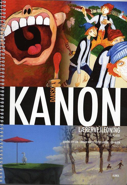 Image of   Kanon I Folkeskolen, Dansk 1.-3.kl. Lærervejledning - Ester Larsen - Bog