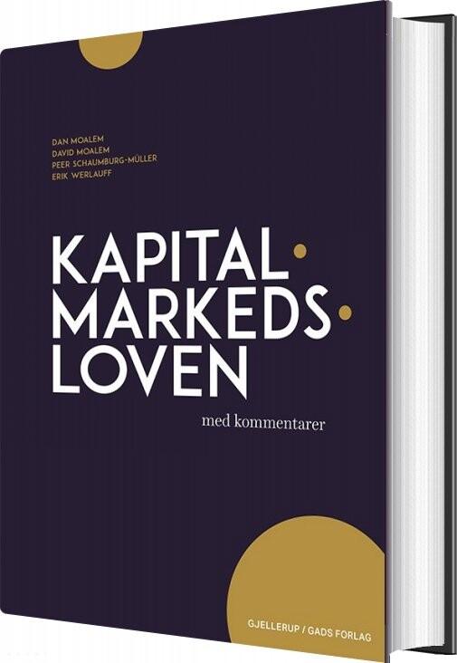 Image of   Kapitalmarkedsloven Med Kommentarer - Erik Werlauff - Bog