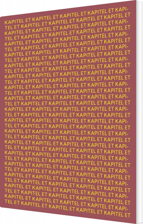 Image of   Kapitel Et - Jenny Tunedal - Bog