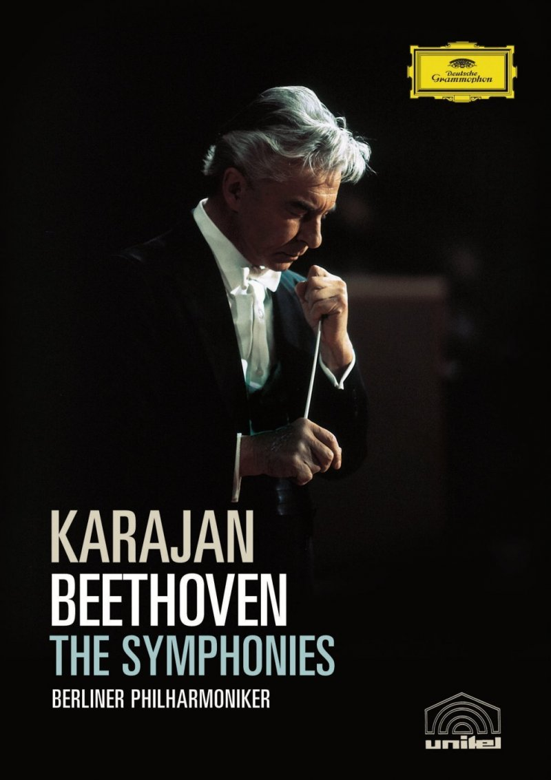 Billede af Karajan - Beethoven: The Symphonies - DVD - Film
