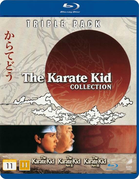 Image of   Karate Kid Boks - Karate Kid 1-3 - Blu-Ray