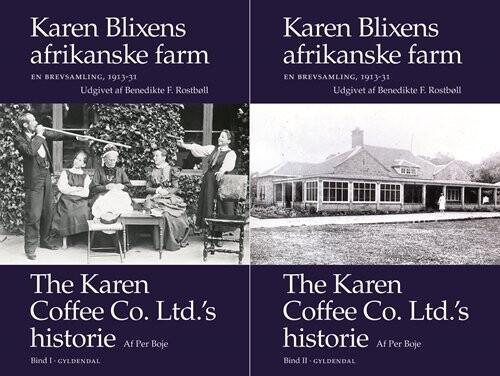 Image of   Karen Blixens Afrikanske Farm - Karen Blixen - Bog