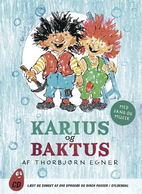 Image of   Karius Og Baktus - Thorbjørn Egner - Cd Lydbog