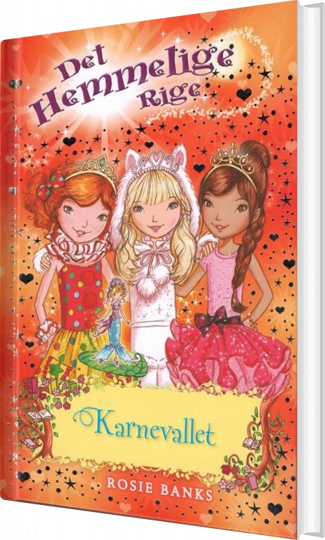 Image of   Det Hemmelige Rige 17 - Karnevallet - Rosie Banks - Bog