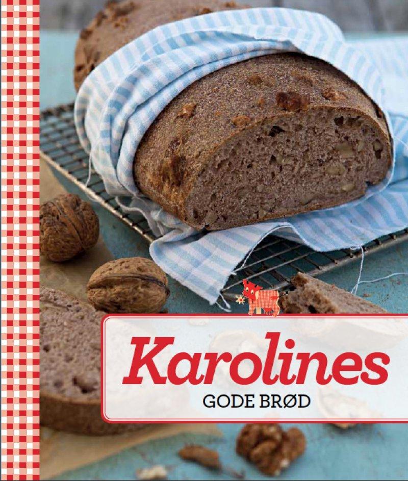 Billede af Karolines Gode Brød - Karolines Køkken - Bog