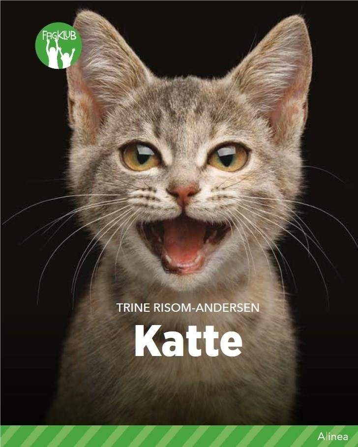 Image of   Katte, Grøn Fagklub - Trine Risom-andersen - Bog