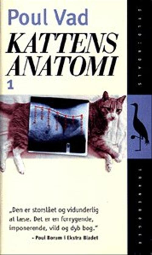 Kattens Anatomi, Bind 1 - Poul Vad - Bog