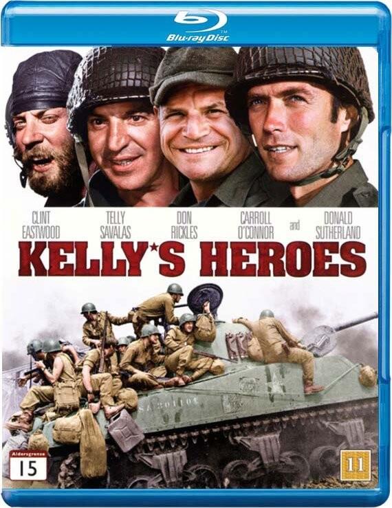 Billede af Kellys Helte / Kellys Heroes - Blu-Ray