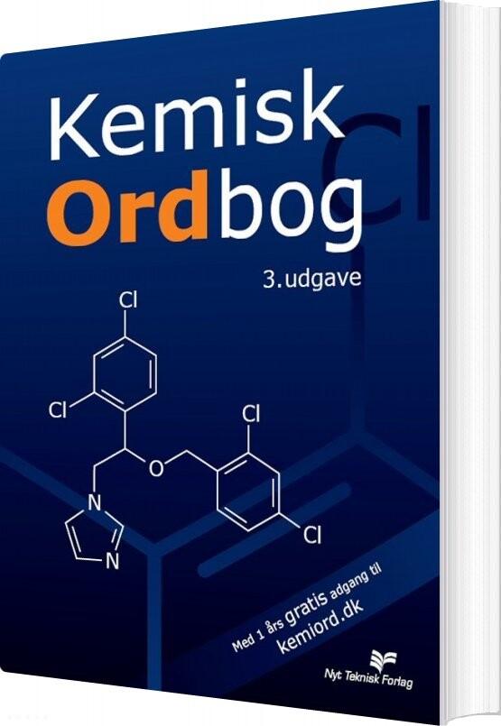 Image of   Kemisk Ordbog - Bog